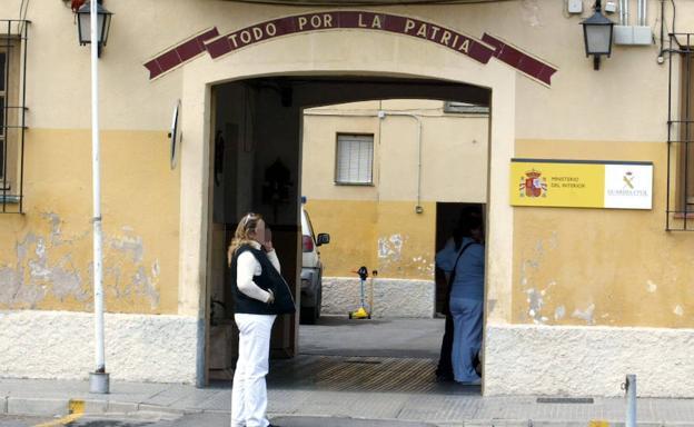 Cuartel de la Guardia Civil de Jumilla.