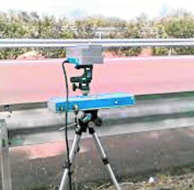 Radar de trípode del modelo Autovelox.