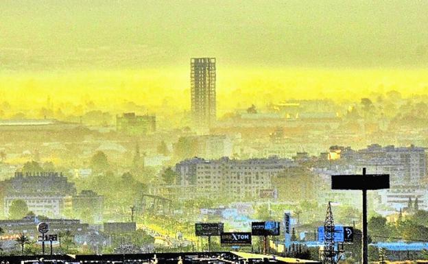 El aire de Murcia, cada vez más contaminado
