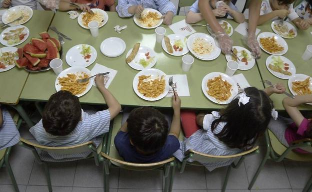 Educación concederá este curso 55.000 becas para comedor y material ...