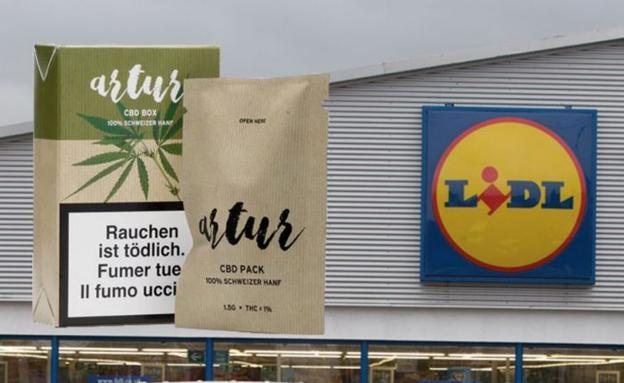 cfc74a78f6cc Lidl pone a la venta paquetes de cannabis en Suiza