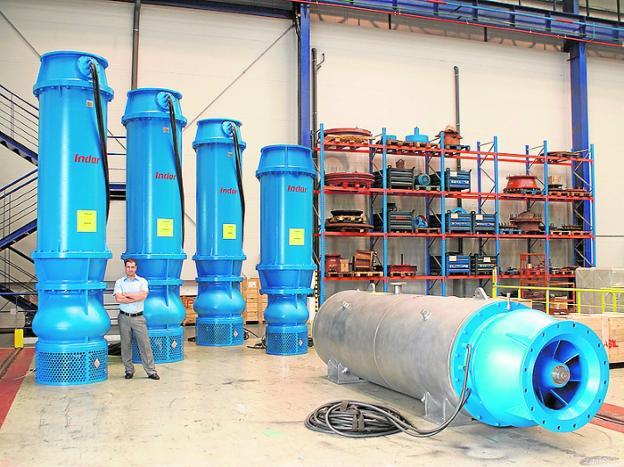 Indar, sello de garantía de Juan Azcue en instalaciones hidráulicas