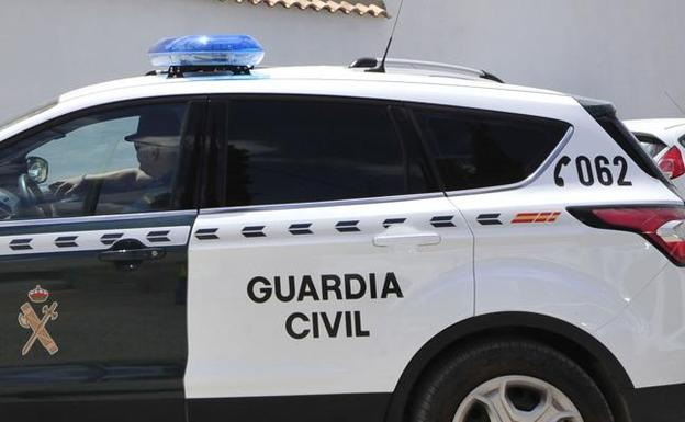 Vehículo de la Guardia Civil. /LV