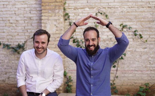 Pablo Bertolín y Andrés Perales.