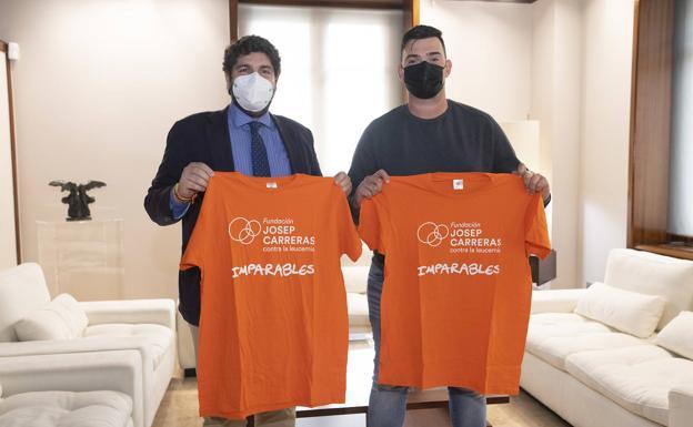 Leucemia | El cartagenero Juan Ignacio Serrano realizará el reto '400 kilómetros contra la leucemia' en bicicleta | La Verdad