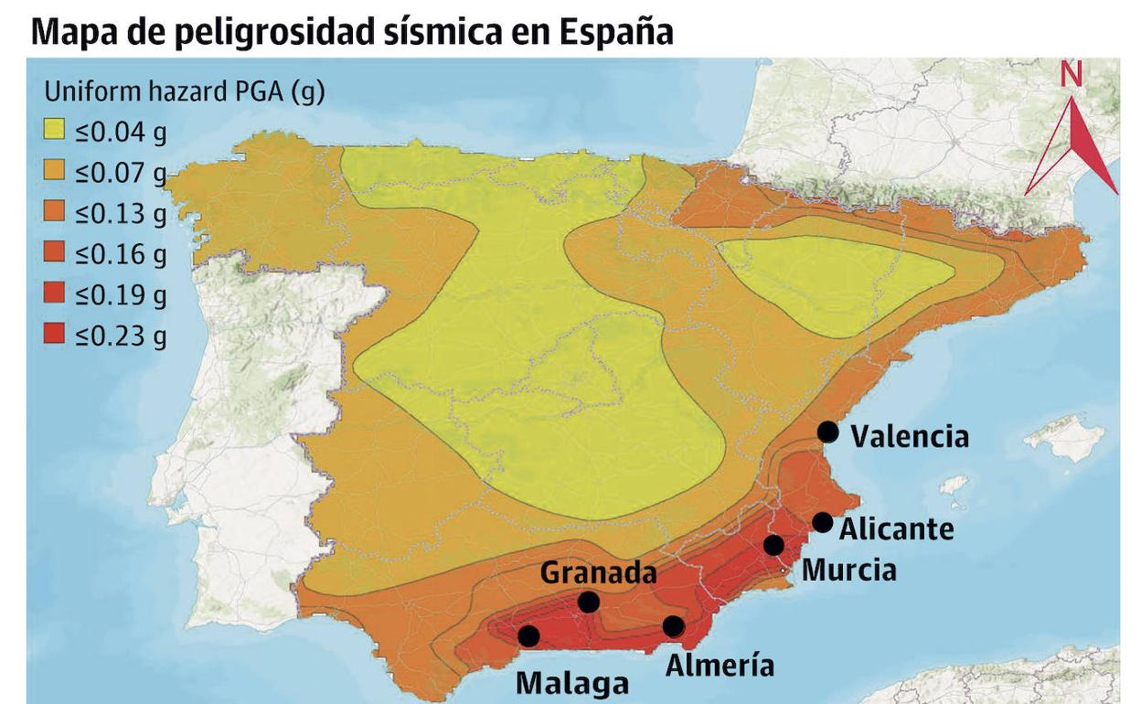 Murcia es la ciudad que más debe reforzar sus edificios para evitar el riesgo de colapso en terremotos | La Verdad