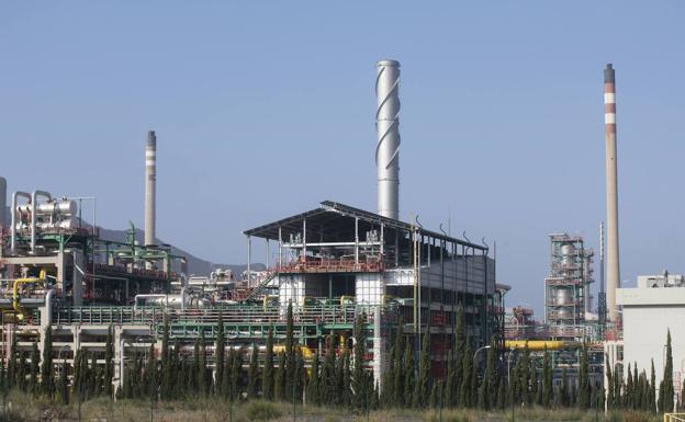 Escombreras Refinery.