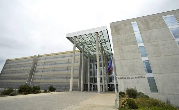 Ciudad de la Justicia de Murcia, en una fotografía de archivo.