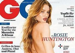 Rosie Huntington Whiteley Se Desnuda Para La Revista Qg La Verdad