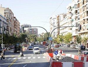 Las Obras Del Tranvía En Ronda De Levante Se Desplazan Hoy De Carril La Verdad